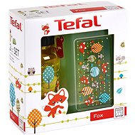Tefal KIDS Plastic Lunch Box + Tritan 0.4l Bottle, Yellow-fox - Sada