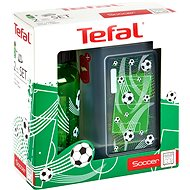 Tefal KIDS Plastic Lunch Box + Tritan 0.4l Bottle, Green-soccer - Set