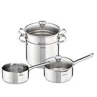 Tefal Pasta Set 6 Pieces Duetto Pasta - Pot Set