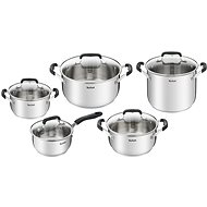 Tefal Cook&Cool Cookware Set, 10pcs, E493SA74 - Pot Set