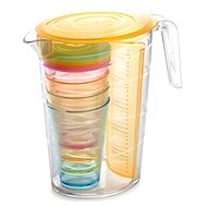 Tescoma Jug Drum myDRINK 2.5l, 4 cups with lid-Or - Pitcher