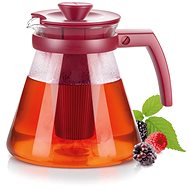 Tescoma TEO TONE 1.25l, with Extraction Sieves, Red - Teapot
