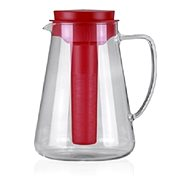 Tescoma Jug TEO 2.5l, with infusion and cooling, red 646628.20 - Pitcher