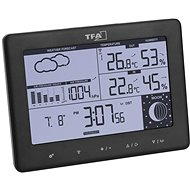 TFA 35.1158.01.GB ELEMENTS - Home Weather Station With Weather Forecast and Two Alarm Clocks - Weather Station