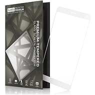 Tempered Glass Protector Frame for Nokia 3 White - Glass protector