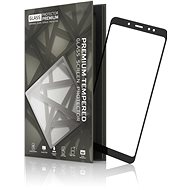 Tempered Glass Protector Frames for Xiaomi RedMi Note 5 Black - Glass protector