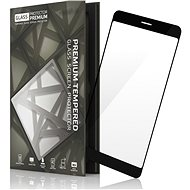 Tempered Glass Protector Frame for Xiaomi RedMi 5 Black - Glass protector