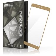 Tempered Glass Protector for Samsung Galaxy J7 (2017) Gold - Glass protector