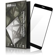 Tempered Glass Protector Frame for Huawei P Smart Black