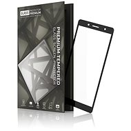 Tempered Glass Protector Frame for Sony Xperia XZ2 Compact Black