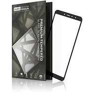 Tempered Glass Protector Frame for Xiaomi RedMi S2 Black - Glass protector
