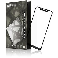 Tempered Glass Protector Frame for Motorola One, Black - Glass protector