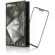 Tempered Glass Protector Frame for Honor 8X, Black - Glass protector