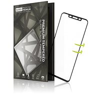 Tempered Glass Protector for Huawei Mate 20 Pro 3D GLASS Black - Glass protector
