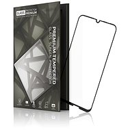 Tempered Glass Protector Frame for Huawei P Smart (2019) black - Glass protector