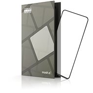 Tempered Glass Protector Frame for Samsung Galaxy Note10 Lite, Black - Glass protector