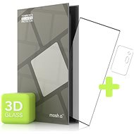Tempered Glass Protector for Samsung Galaxy Note 20 Ultra 3D GLASS, Black + Camera Glass - Glass protector