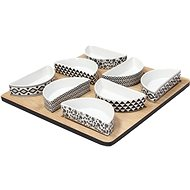 Andrea Fontebasso Appetizer, Square, 9pcs, GOURMET 2 FISH & CHIPS - Bowl Set