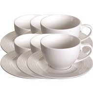 Tognana CIRCLES Set of Tea Mugs 200ml 6pcs - Cup & Saucer Set
