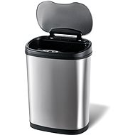 Toro Waste Bin with Segregated Baskets, with Waste Sensor, Stainless Steel, 42l - Contactless Waste Bin