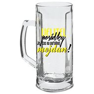 BEER GLASS - Velitel Posádky!, 500ML - Beer Glass