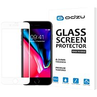 Odzu Glass Screen Protector E2E White iPhone 8/7 - Glass protector