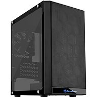 SilverStone Precision PS15B Tempered Glass Black - PC Case