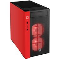 SilverStone Redline RL08 RGB, Red - PC Case