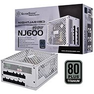 SilverStone Nightjar Fanless Titanium NJ600 600W - PC Power Supply