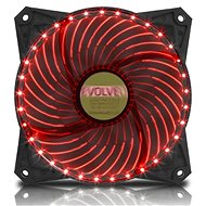 EVOLVEO 12L2RD LED 120mm Red - PC Fan
