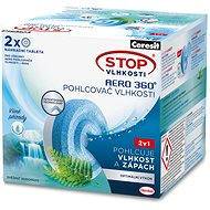 CERESIT STOP Humidity AERO 360° Freshness of Waterfalls Replacement Tablets 2 × 450g - Dehumidifier