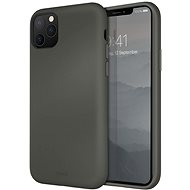 Uniq Hybrid Lino Hue for the iPhone 11 Pro, Moss Grey - Mobile Case