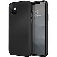 Uniq Lino Hue Hybrid iPhone 11 Ink Black - Mobile Case