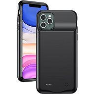 USAMS US-CD112 4500mah Battery Cover for iPhone 11 PRO Max Black (EU Blister) - Mobile Case