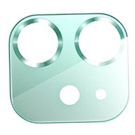 USAMS US-BH703 Metal Camera Lens Glass Film for iPhone 12 Green - Glass Protector