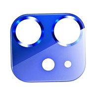 USAMS US-BH703 Metal Camera Lens Glass Film for iPhone 12 Blue - Glass Protector