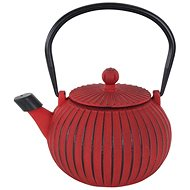 CAST IRON Teapot 1,15L, RED - Teapot