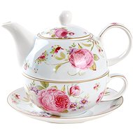 UTC Porcelain pot with cup SWEET ROSES - Teapot