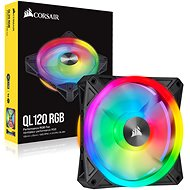 Corsair iCUE QL120 RGB 120mm PWM Single - PC Fan