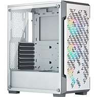 Corsair iCUE 220T RGB Tempered Glass, White - PC Case