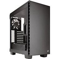 Corsair 400C Carbide Series Clear black - transparent side wall - PC Case