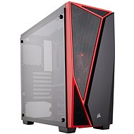 Corsair SPEC-04 LED Carbide Series with transparent sidewall - PC Case