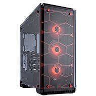 Corsair Crystal Series 570X RGB Tempered Glass - Red - PC Case
