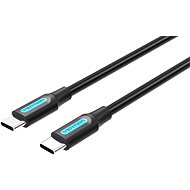 Vention Type-C (USB-C) 2.0 Male to USB-C Male Cable 2M Black PVC Type - Data Cable