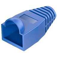 Vention RJ45 Strain Relief Boots Blue PVC Style 100 Pack - Connector Cover