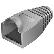 Vention RJ45 Strain Relief Boots Gray PVC Style 100 Pack - Connector Cover