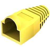 Vention RJ45 Strain Relief Boots Yellow PVC Style 100 Pack - Connector Cover