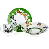 BANQUET Children's 3 Piece Set of JUNGLE FRIENDS A11868