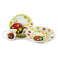 BANQUET Children's 3-piece set HEDGEHOG A02727