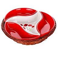 BANQUET RED POPPY 23cm A00831 - Bowl Set
